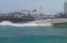 Anh phản ứng trước việc Iran bắt giữ tàu chở dầu ở Eo biển Hormuz
