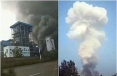 Nổ nhà máy khí đốt tại Trung Quốc: Số nạn nhân tăng mạnh