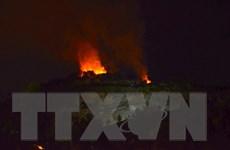 Đà Nẵng: Hàng trăm người khẩn trương dập đám cháy rừng trong đêm