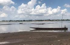 Mực nước sông Mekong tại Nakhon Phanom thấp nhất trong gần 100 năm