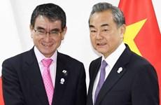 Ngoại trưởng Nhật Bản-Trung Quốc thảo luận quan hệ song phương