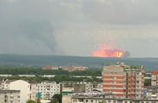 Nổ kho vũ khí tại vùng Siberia Nga, 5 người bị thương