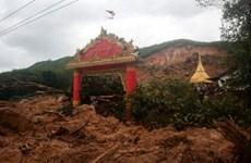 Lở đất tại Myanmar khiến hàng chục người bị chôn vùi