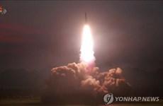 Hàn Quốc: Vật thể Triều Tiên vừa bắn là tên lửa đạn đạo tầm ngắn