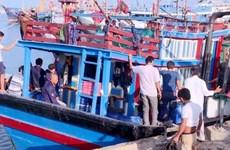 Quảng Ngãi: Một ngư dân tử vong do lưới quấn chân khi đang trên biển