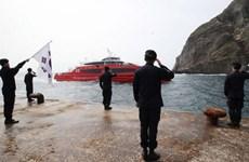 Hàn Quốc tập trận thường niên tại quần đảo tranh chấp với Nhật