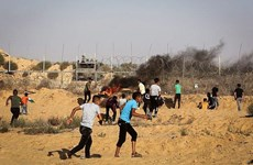Hơn 50 người Palestine bị thương trong các vụ đụng độ tại Gaza