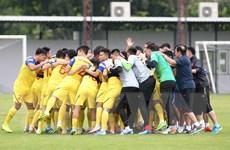 [Photo] Đội tuyển Việt Nam tiếp tục tập kín ở Thái Lan