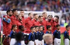 Sự cố hy hữu phát nhầm quốc ca trong trận đấu Pháp-Albania