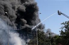 Ít nhất 7 người bị thương do cháy nhà máy hóa chất tại Thổ Nhĩ Kỳ
