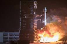 Trung Quốc phóng thành công hai vệ tinh Bắc Đẩu mới