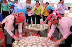 [Photo] Lai Châu: Đặc sắc Hội thi giã bánh dày mang đậm nét văn hóa