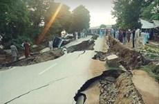 [Video] Hiện trường vụ động đất nghiêm trọng ở Pakistan