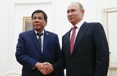 Nga tăng cường hợp tác an ninh quốc phòng với Philippines