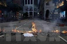 Chính quyền Hong Kong lên án hành động quá khích của người biểu tình