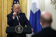 Tổng thống Donald Trump nói truyền thông Mỹ 'giả dối' và 'tham nhũng'