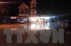 Bình Phước: Mưa lớn gây ngập lụt nhiều nơi trên vùng cao huyện Bù Đăng