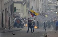 [Video] Thủ đô Quito của Ecuador hoang tàn sau các cuộc biểu tình