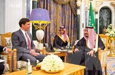 Bộ trưởng Quốc phòng Mỹ gặp Quốc vương Saudi Arabia