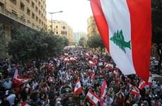 [Video] Liban: Người biểu tình đụng độ lực lượng an ninh