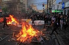 [Video] Bạo loạn tiếp diễn tại các thành phố lớn ở Chile