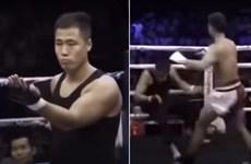 Sau Từ Hiểu Đông, Đình Hạo tiếp tục bại trận trước một võ sỹ MMA khác
