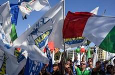 Cuộc tổng đình công làm tê liệt giao thông ở khắp Italy
