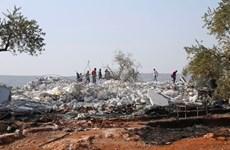 Khung cảnh tan hoang nơi thủ lĩnh IS Abu al-Baghdadi bị tiêu diệt