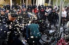 Australia: Đụng độ giữa cảnh sát và người biểu tình vì môi trường