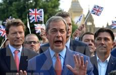 Vấn đề Brexit: Đảng Brexit cảnh báo Thủ tướng Anh về bầu cử sớm