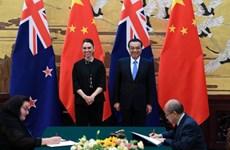 New Zealand-Trung Quốc thông qua việc nâng cấp FTA song phương