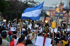 [Video] Biểu tình tại Honduras phản đối các dự án xây nhà