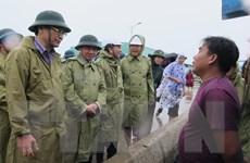 Lãnh đạo tỉnh Khánh Hòa kiểm tra công tác ứng phó với bão số 6