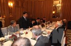 Đoàn đại biểu Thành phố Hà Nội làm việc tại Israel và Vương quốc Anh