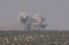 [Video] Syria: Cận cảnh các vụ không kích ở tỉnh Idlib