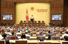 Kỳ họp thứ 8, Quốc hội khóa XIV: Thảo luận hai dự án Luật