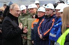 Tổng thống Nga khai trương tuyến đường cao tốc Moskva–St. Petersburg