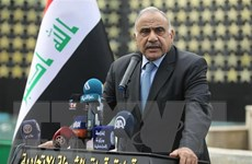 Thủ tướng Iraq Adel Abdul Mahdi tuyên bố sẽ đệ đơn từ chức