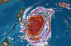 Bão Kamuri giật cấp 17 sẽ đi vào Biển Đông trong ngày 3/12