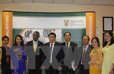 Đoàn công tác Hội đồng Dân tộc của Quốc hội làm việc tại Nam Phi