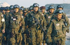 Nhật Bản điều chỉnh dự toán ngân sách quốc phòng lên mức kỷ lục