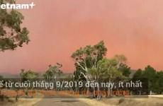 Cháy rừng ở Australia khiến bầu trời chuyển màu đỏ như máu