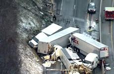 Mỹ: Đâm xe liên hoàn khiến ít nhất 65 người thương vong