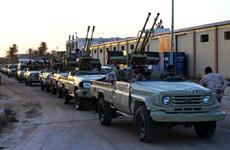 Libya: Quân đội miền Đông chiếm sân bay thành phố Sirte