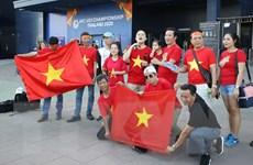 Cổ động viên Việt Nam hy vọng ăn Tết tại Thái Lan cùng đội tuyển