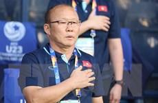 VCK U23 châu Á 2020: HLV Park Hang-seo hài lòng với trận ra quân