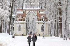 [Photo] Người dân Moskva lạc vào câu chuyện cổ tích đầy tuyết