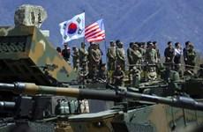Hàn Quốc và Mỹ chưa đạt thỏa thuận về chia sẻ chi phí quốc phòng