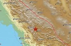 Động đất có độ lớn 5,4 tại miền Nam Iran, chưa có báo cáo thương vong