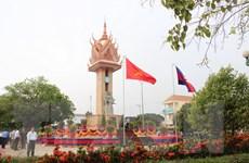 Khánh thành Đài Hữu nghị Việt Nam-Campuchia tỉnh Kampong Cham